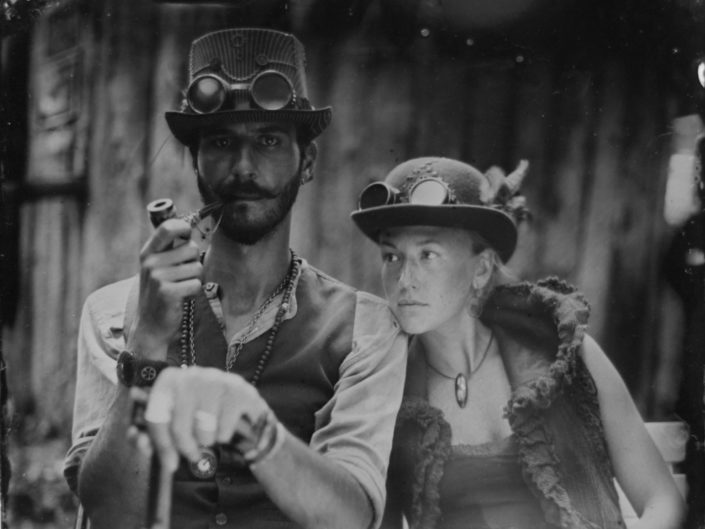 Portraits ambulants - collodion humide