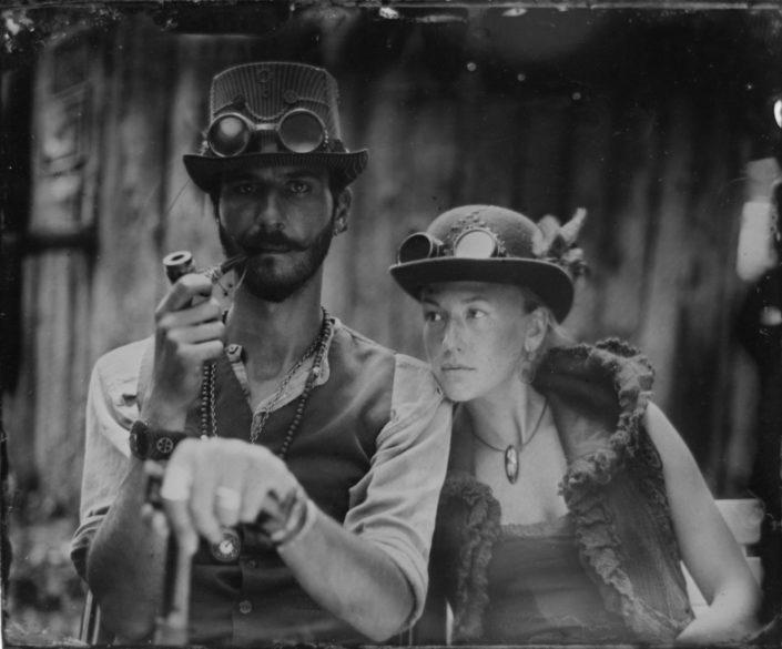 Portraits ambulants – collodion humide